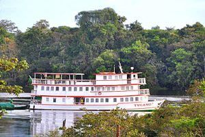 Exploring deep in the Amazon on the Motor Yacht Tucano