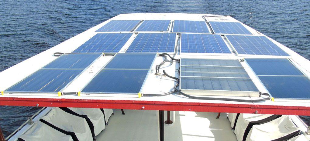 M/Y Tucano Amazon River Cruise Solar Panels