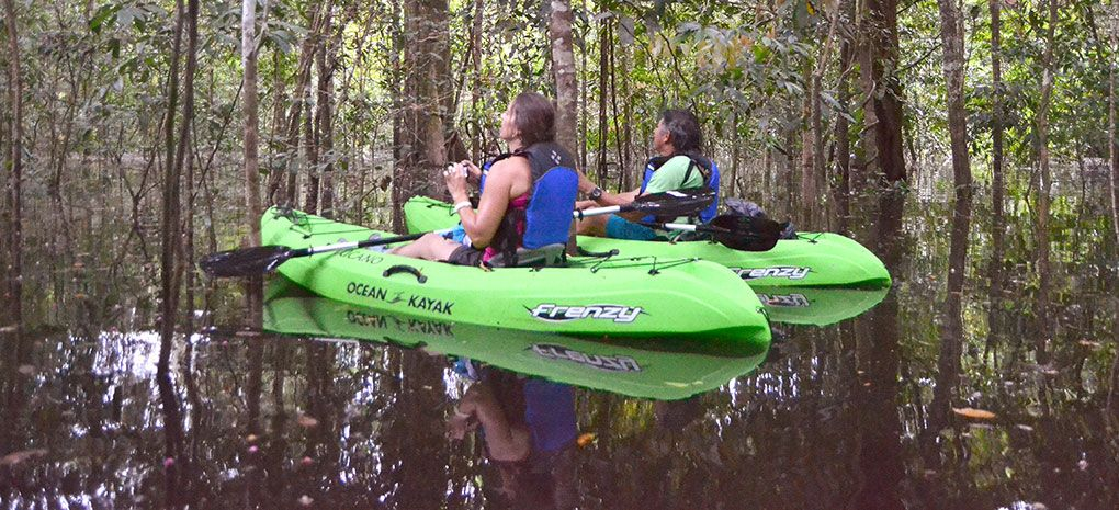 Amazon River Kayak Excursion