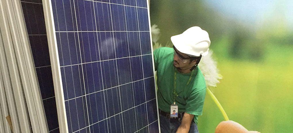 Installing Solar Panels on M/Y Tucano Amazon River Cruise
