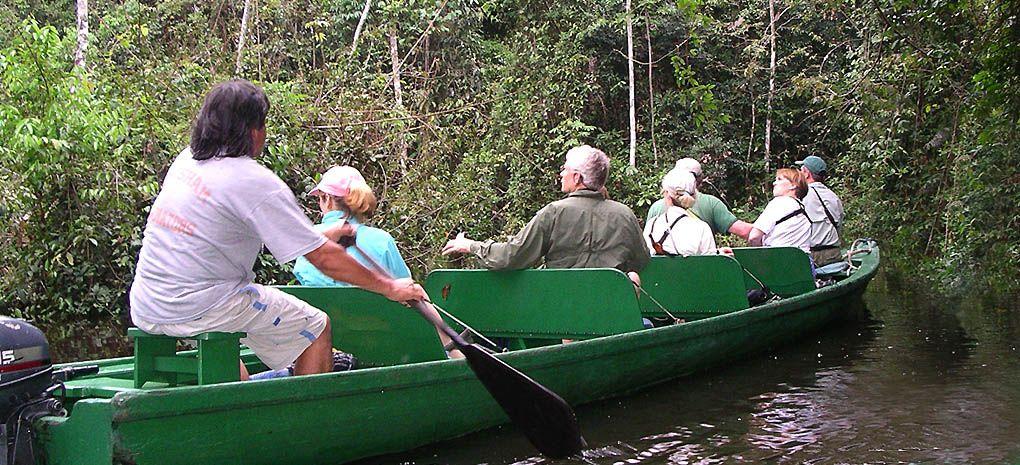Tucano Launch Boat on an Amazon River Cruise